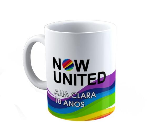 Caneca Polímero Festa Now United Lembrancinha Kit com 20  - PLACT ZUM