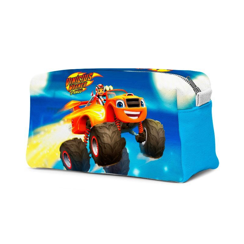 Estojo Necessaire Festa Blaze Monster Machines  - PLACT ZUM