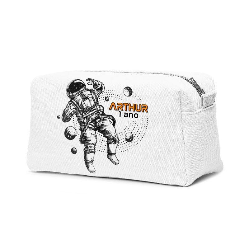 Estojo Necessaire Festa Astronauta Lembrancinha  - PLACT ZUM