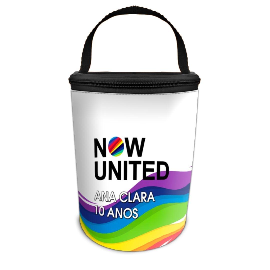 Frasqueira Festa Now United Lembrancinha Kit com 50  - PLACT ZUM