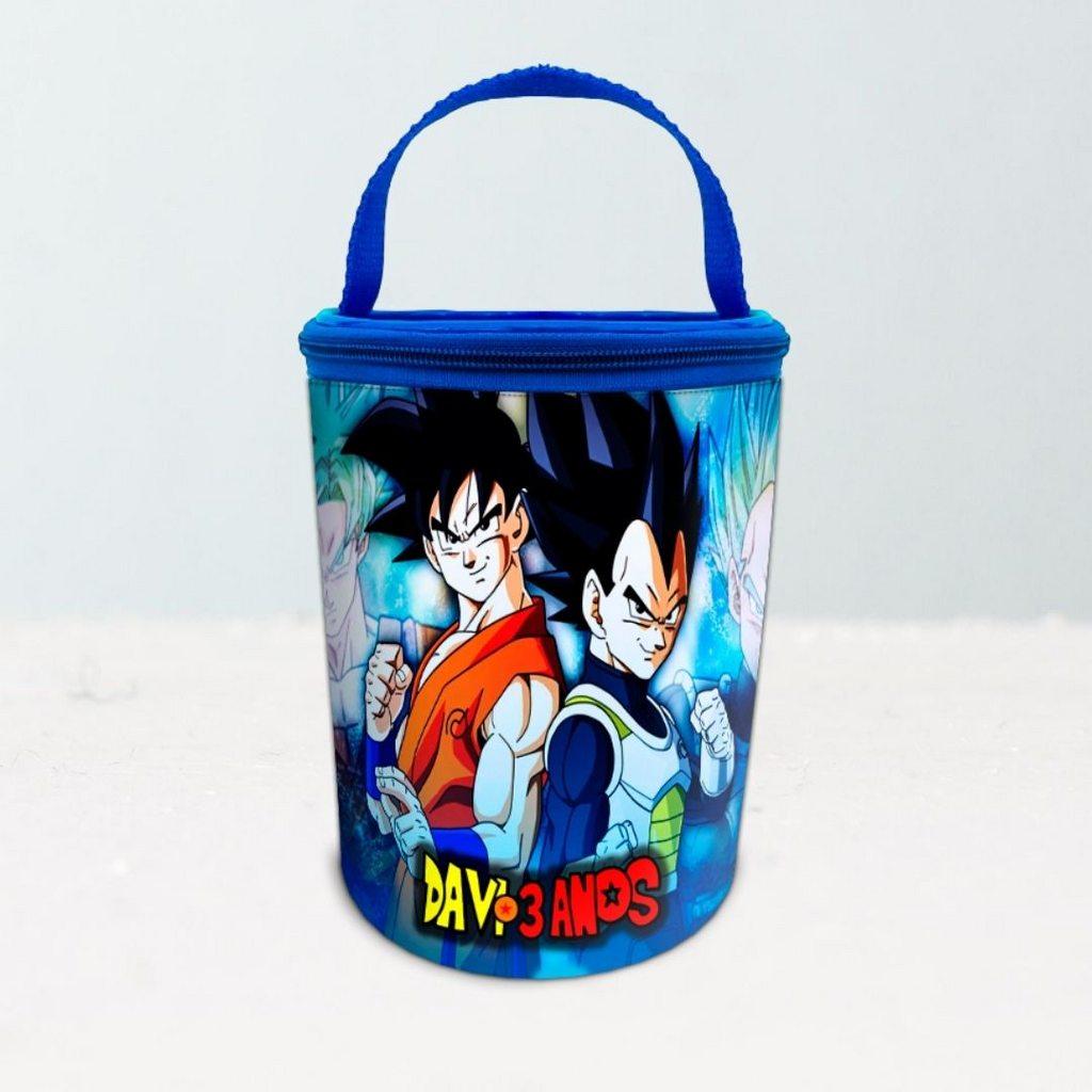 Frasqueira Festa Dragon Ball Lembrancinha  - PLACT ZUM
