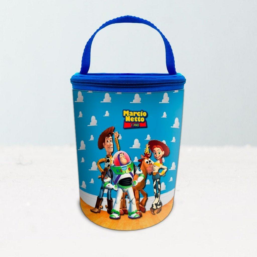Frasqueira Festa Toy Story Lembrancinha Aniversário  - PLACT ZUM