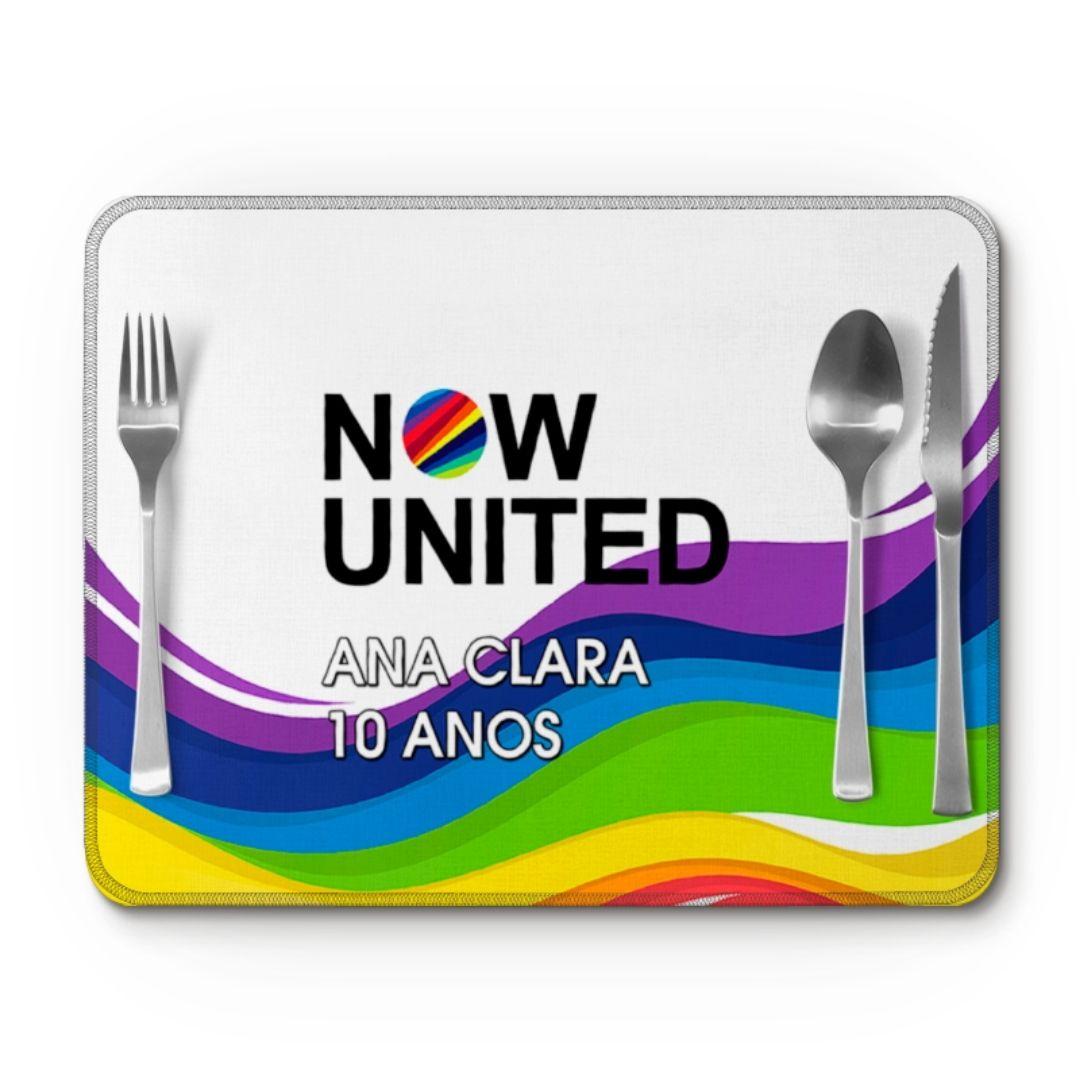 Jogo Americano Festa Now United Lembrancinha Kit com 35  - PLACT ZUM