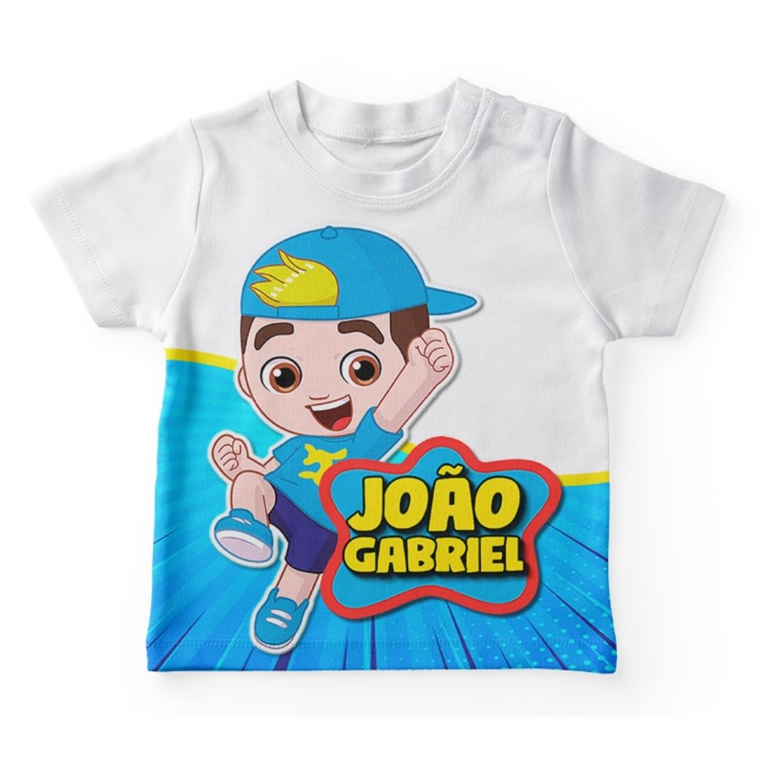 Kit Camiseta Festa Lucas Neto Lembrancinha  1  - PLACT ZUM