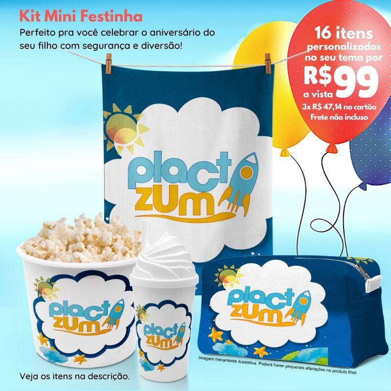 Kit Mini Festinha No Seu Tema  - PLACT ZUM