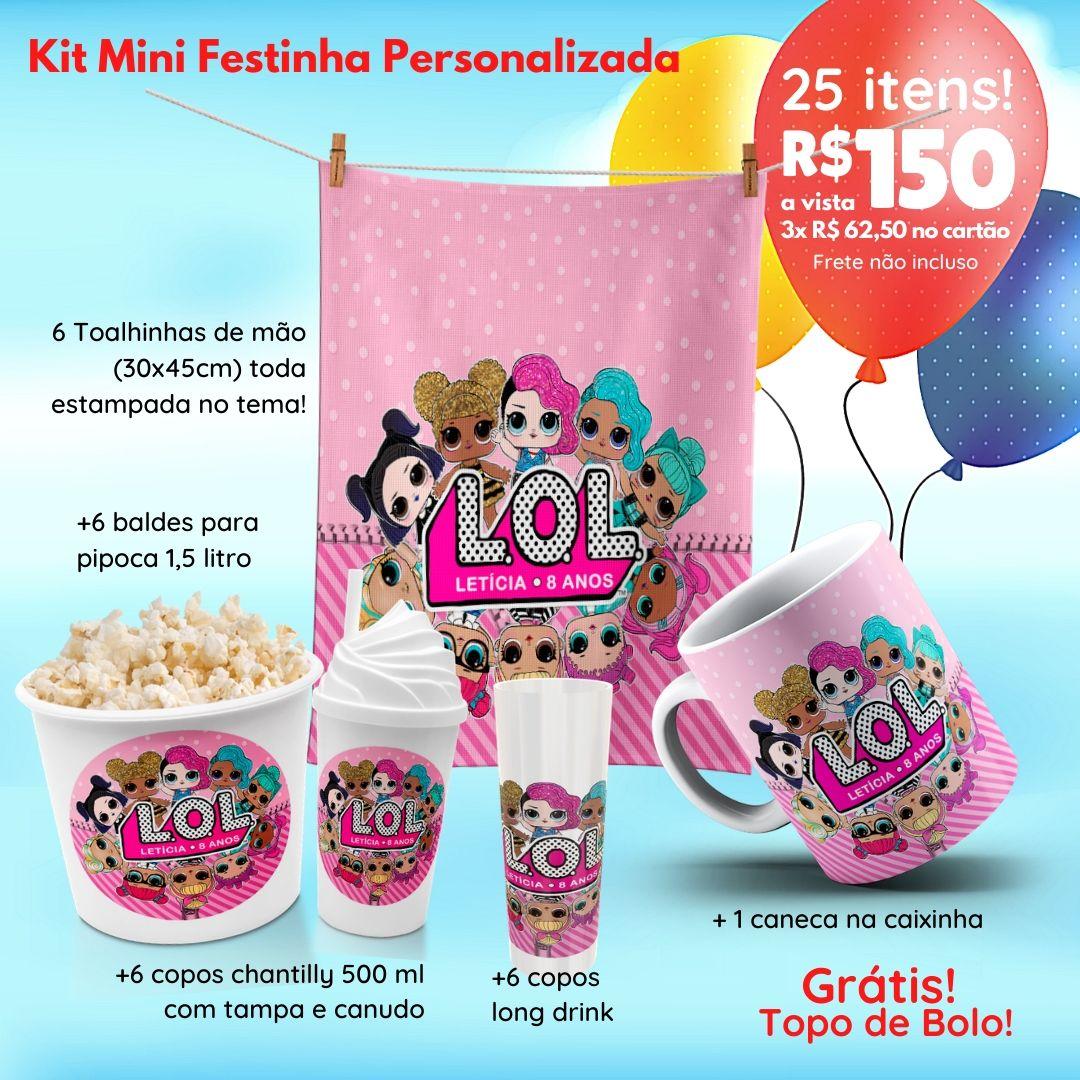 Mini Festinha Lol Suprise Personalizada  - PLACT ZUM