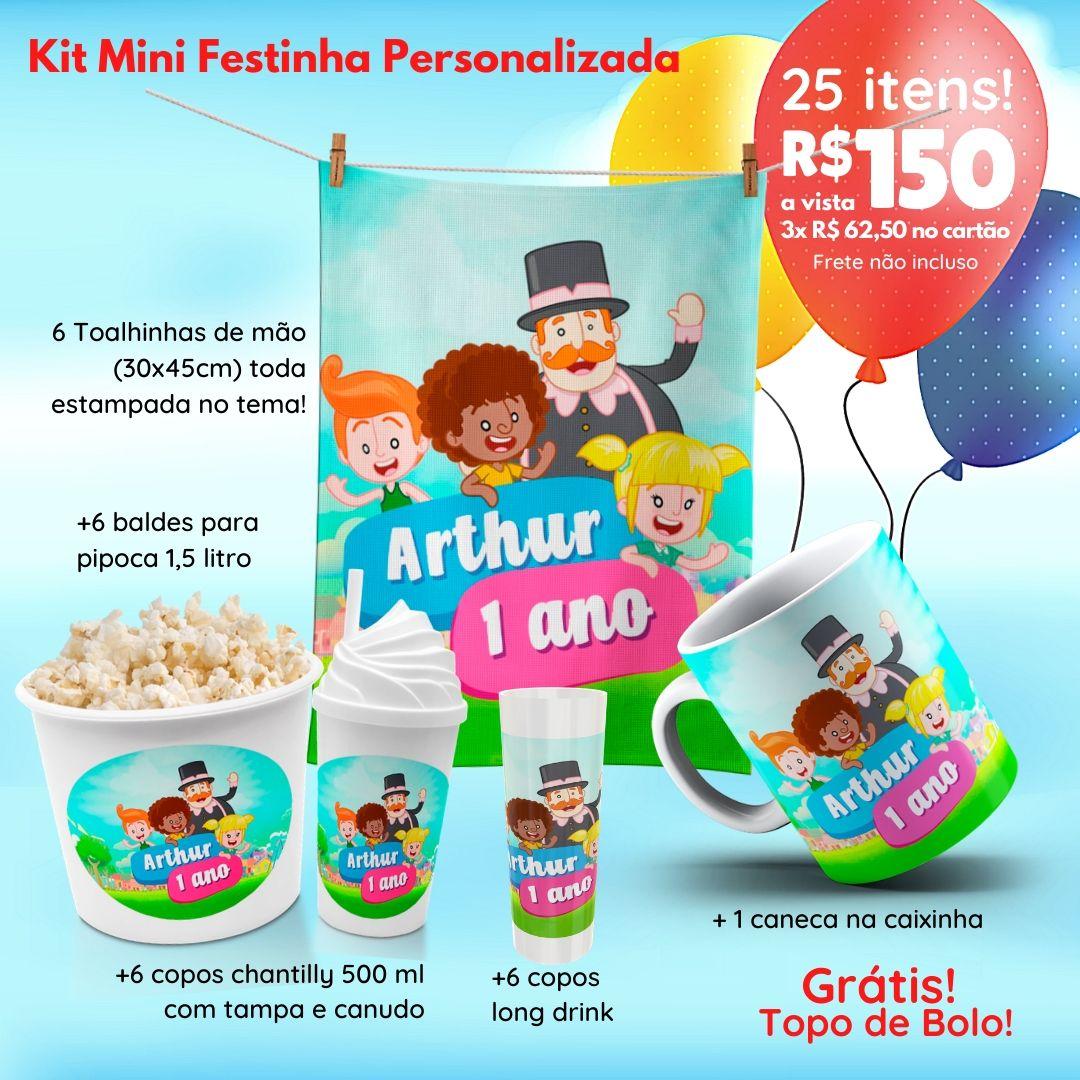 Mini Festinha Mundo Bita Personalizada  - PLACT ZUM