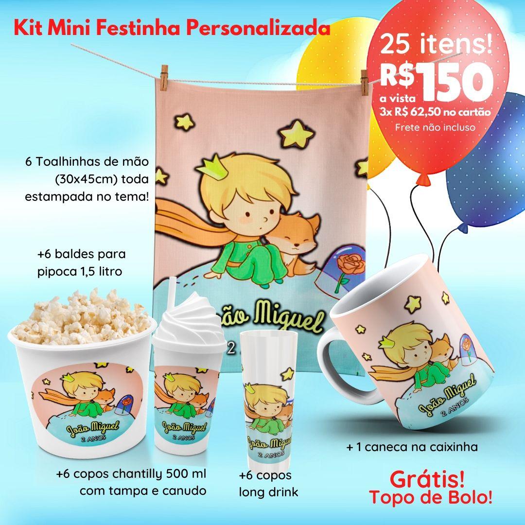 Mini Festinha Pequeno Principe Personalizada  - PLACT ZUM