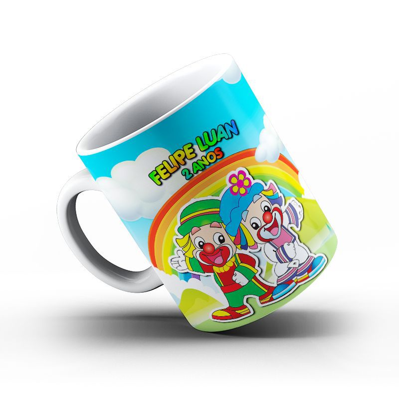 Mini Festinha Patati Patata Ref 0207 Personalizada  - PLACT ZUM