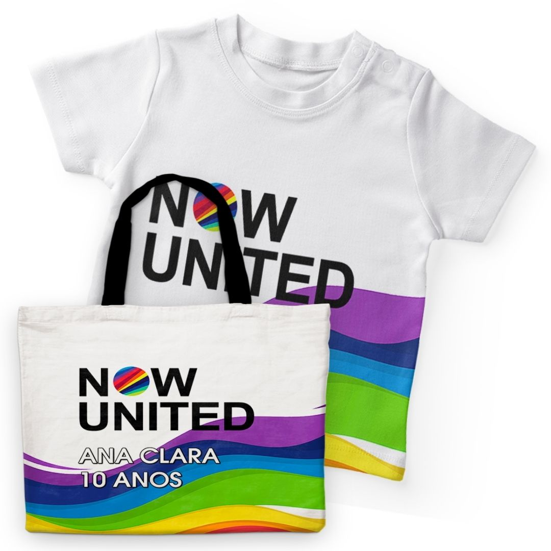 Kit Passeio Festa Now United Lembrancinha Kit com 50  - PLACT ZUM