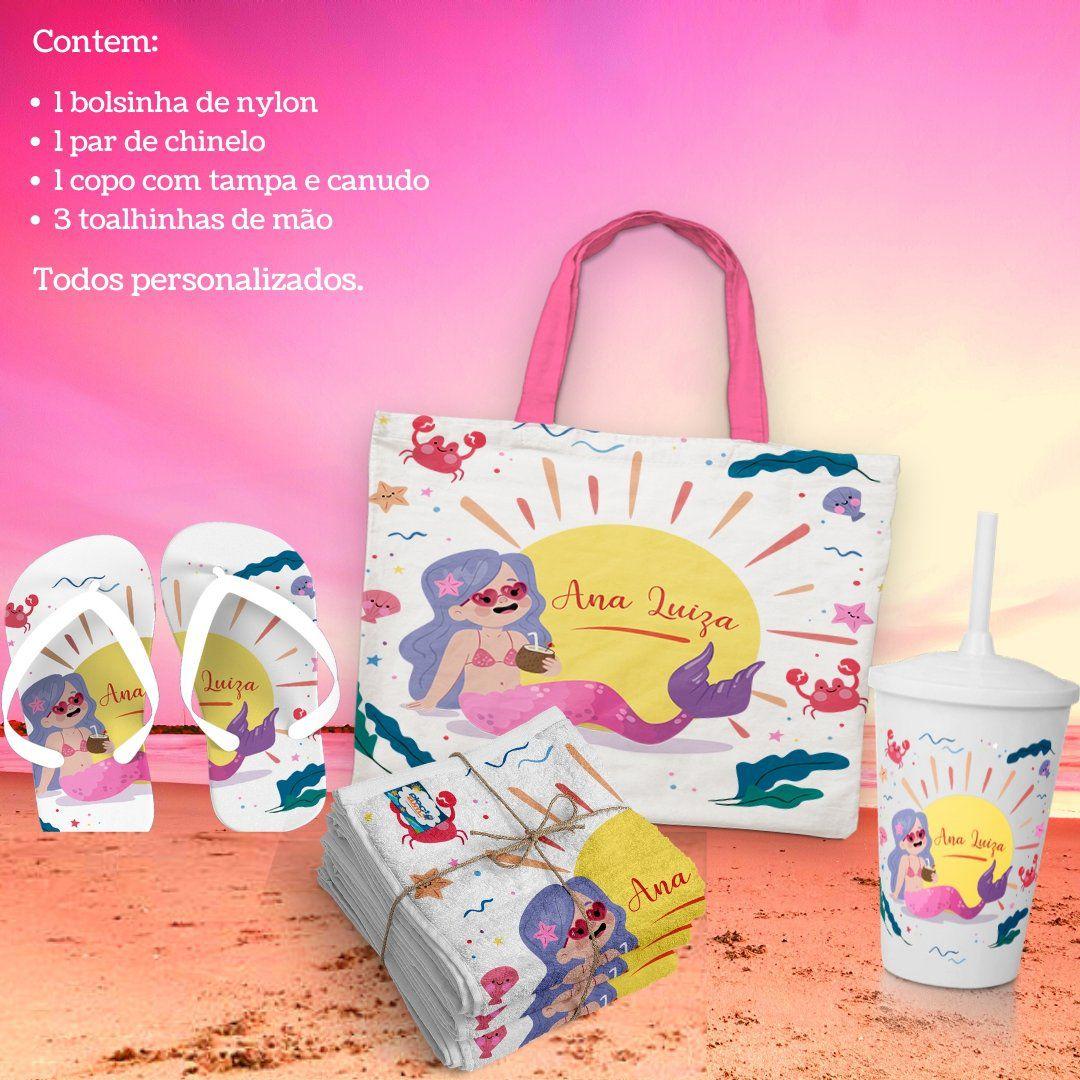 Kit Presente Personalizado Hello Summer   - PLACT ZUM