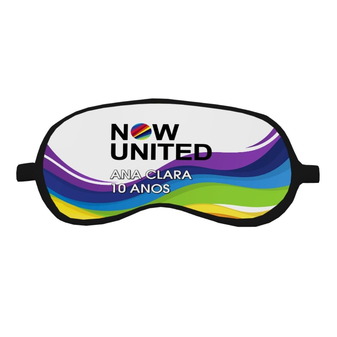 Máscara Festa Now United Lembrancinha Kit com 40  - PLACT ZUM