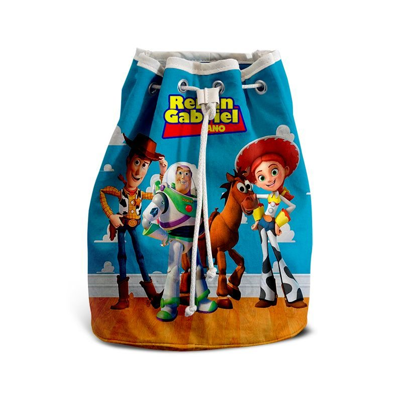 Mochila de Mão Festa Toy Story Lembrancinha  - PLACT ZUM