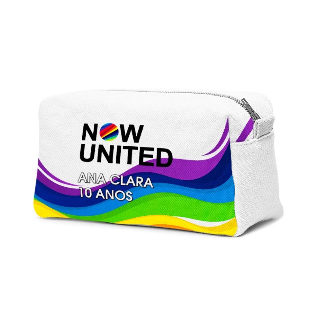 Necessaire Festa Now United Lembrancinha Kit com 70  - PLACT ZUM