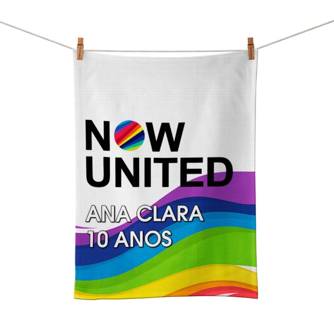 Toalha De Mão Festa Now United Lembrancinha Kit com 60  - PLACT ZUM