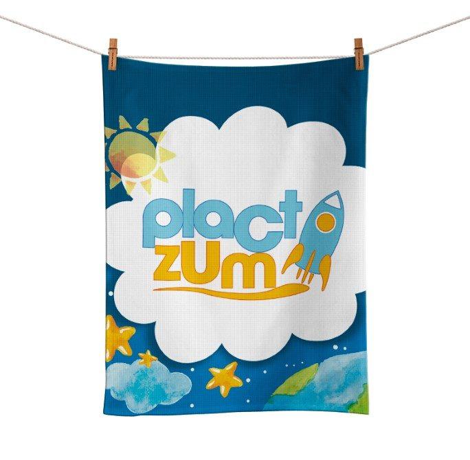 Toalhinha de Mão Festa Plactzum Lembrancinha  - PLACT ZUM