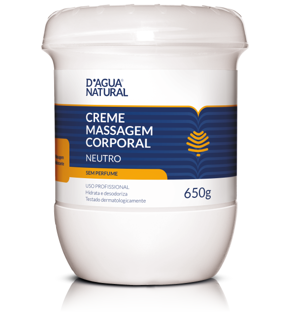 CREME MASSAGEM NEUTRO 650 GR