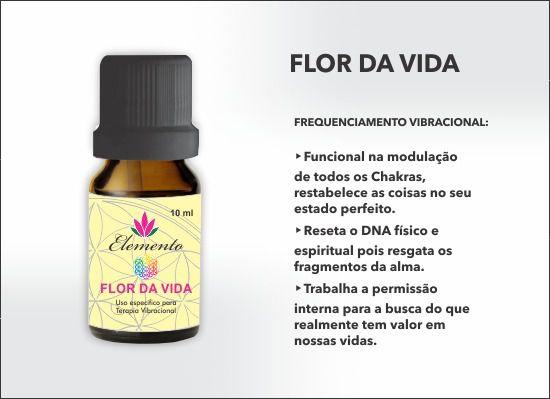 ELEMENTO FLOR DA VIDA OLÉO