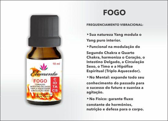ELEMENTO FOGO OLEO
