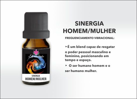 ELEMENTO SINERGIA HOMEM/MULHER (GAIA)