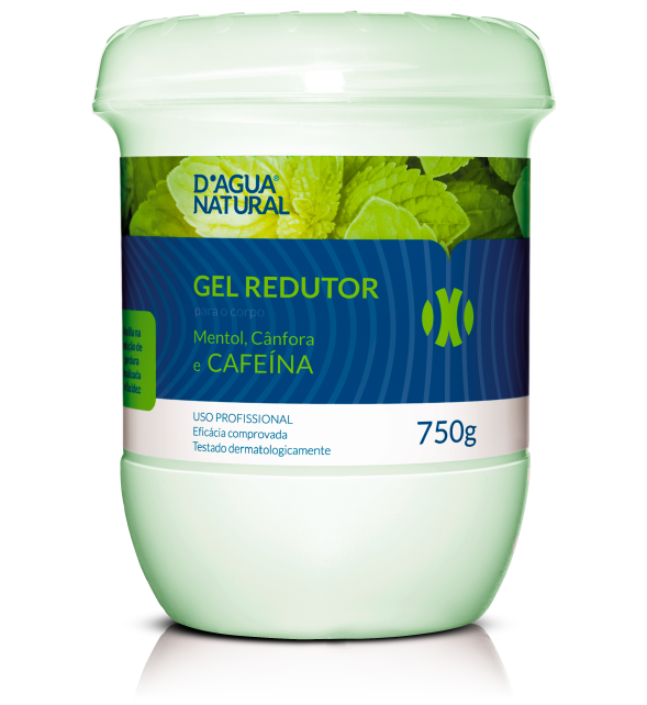 GEL REDUTOR 750G D´AGUA NATURAL