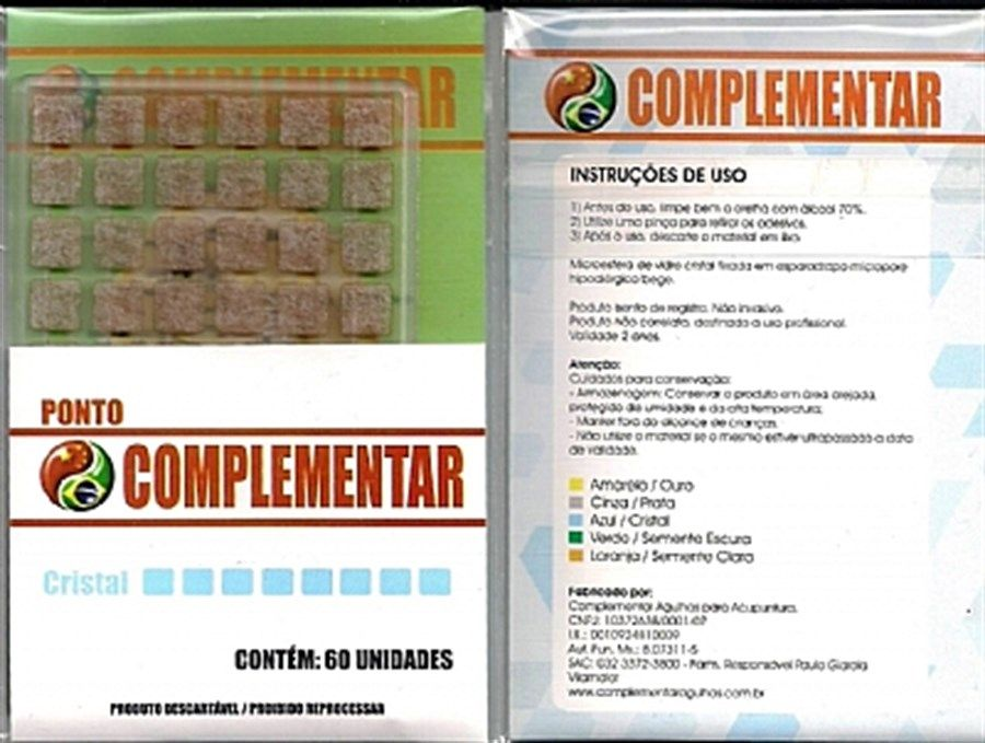 PONTO CRISTAL COMPLEMENTAR C/60