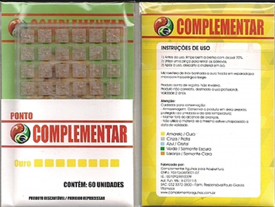 PONTO OURO COMPLEMENTAR C/60