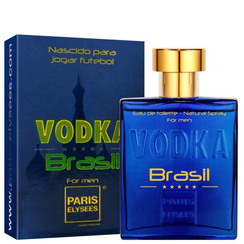 8e654b932 Perfume Vodka Brasil Blue For Men Paris Elysees EDT 100 ML - Lumi Milu