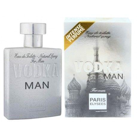 f99830fc6 Perfume Vodka Man For Men Paris Elysees EDT 100ml - Lumi Milu