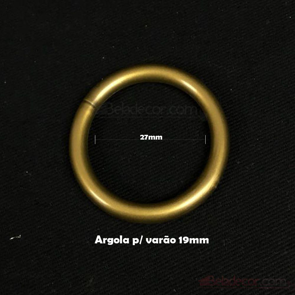 ARGOLA CORTINA KIT COM 100 UNIDADES 19MM