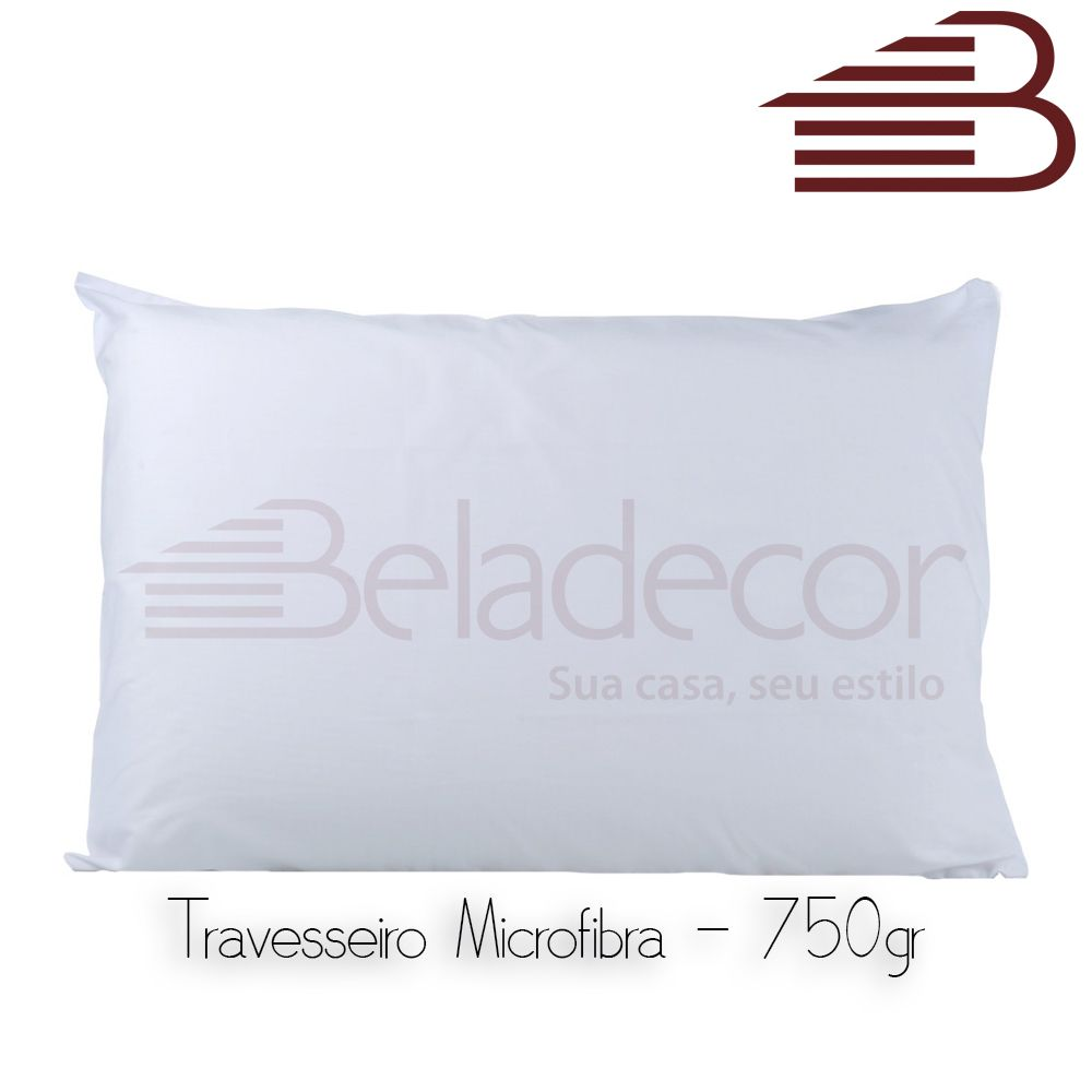 TRAVESSEIRO BELADECOR MICROFIBRA 750G
