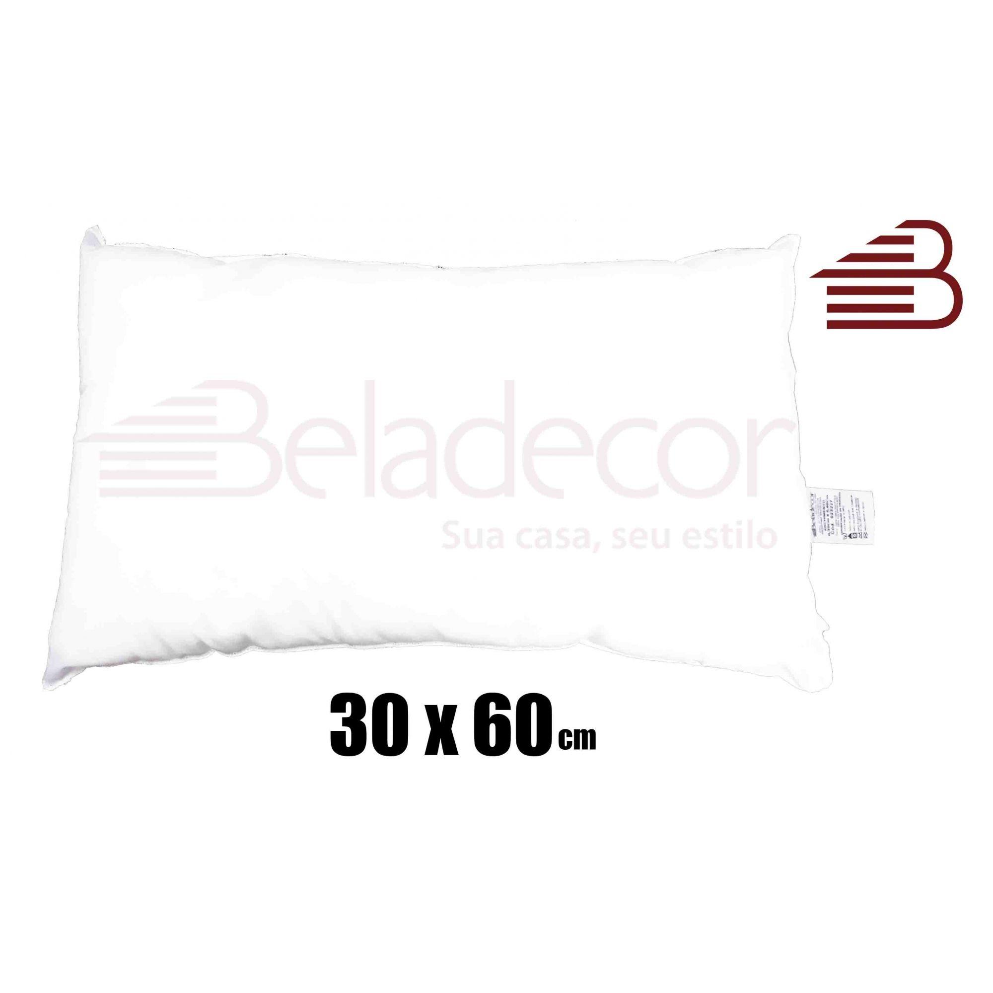 ENCHIMENTO DE ALMOFADA BELADECOR 30CM X 60CM