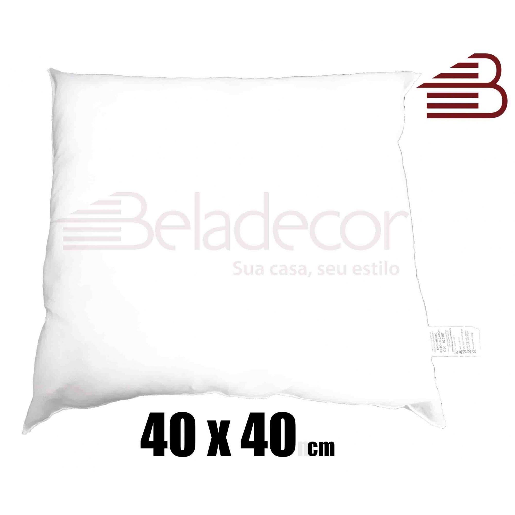 ENCHIMENTO DE ALMOFADA BELADECOR 40CM X 40CM