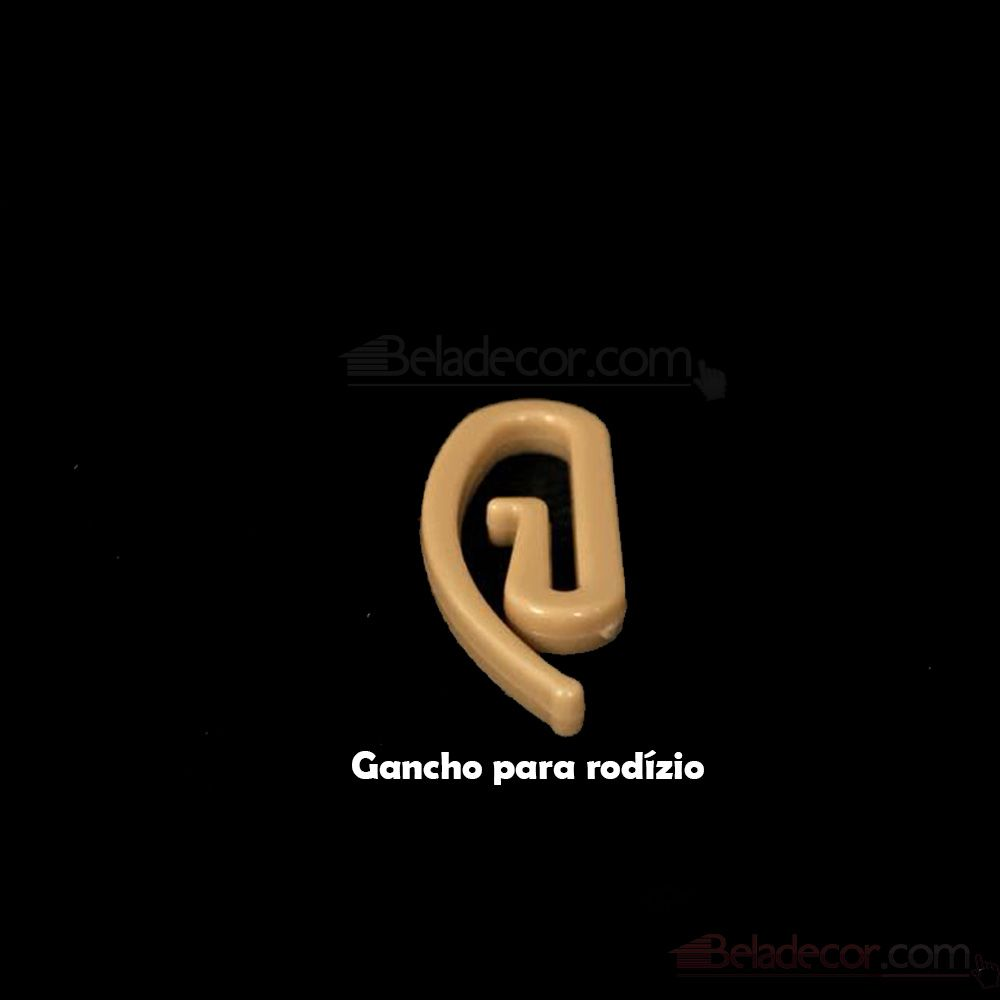 GANCHO PARA CORTINA 10 UNIDADES