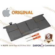 "Bateria Original Apple Modelo A1375 para MacBook Air 11"" 2010/a1370"