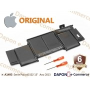 Bateria Original Apple Modelo A1493 para MacBook Pro 13