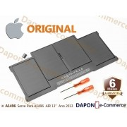 "Bateria Original Apple Modelo A1496 para MacBook Air 13"" (Late 2010 - 2017)"