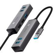 Hub Adaptador USB para 5x USBs Baseus Cube
