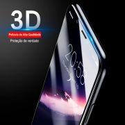 Película Protetora 3D Vidro Temperado para iPhone X