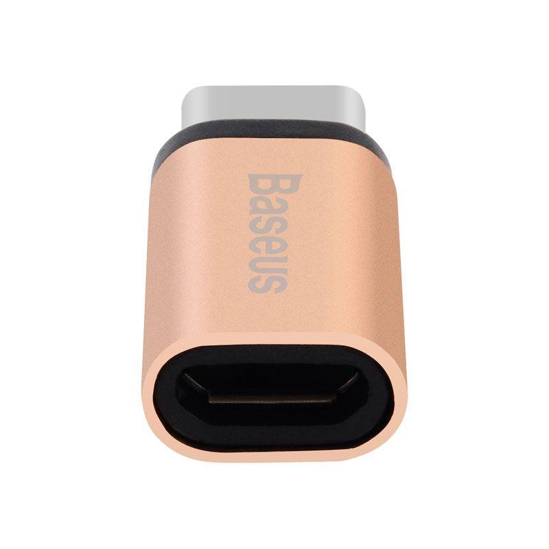 Adaptador Micro USB Fêmea para Type-C Macho Baseus Sharp