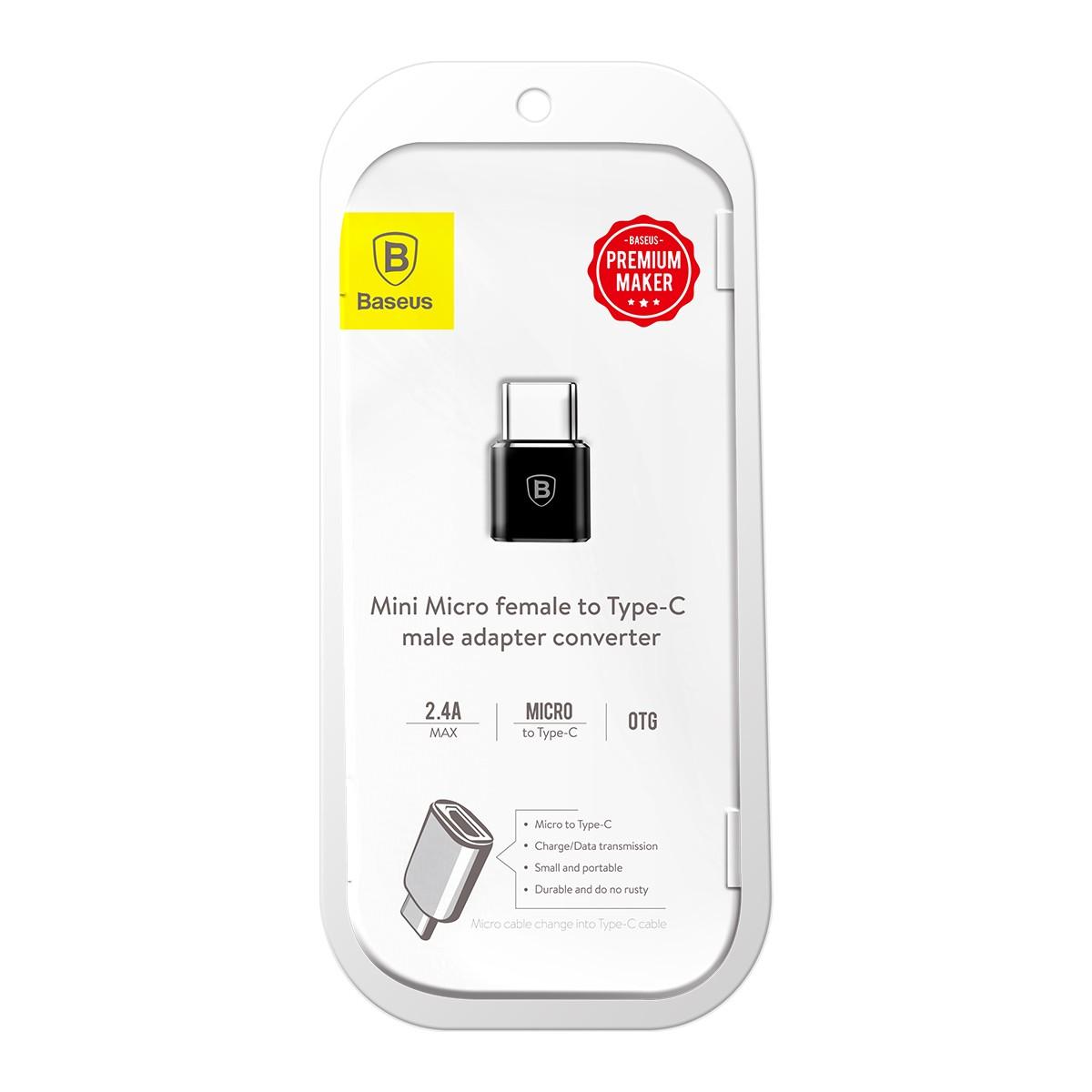 Adaptador Micro USB Fêmea para Type-C Macho