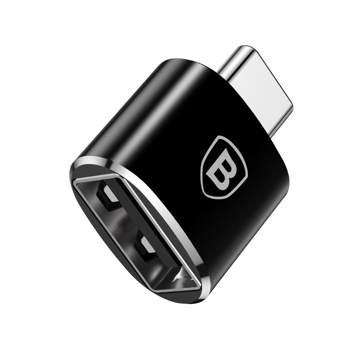 Adaptador USB Fêmea para Type-C Macho