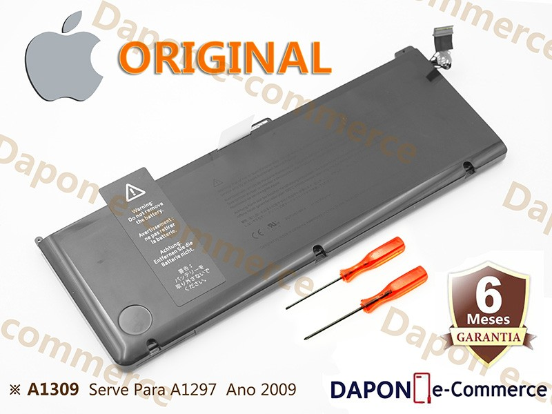 "Bateria Original Apple Modelo A1309 para MacBook Pro 17"" A1297 (Early 2009 - Mid 2010)"