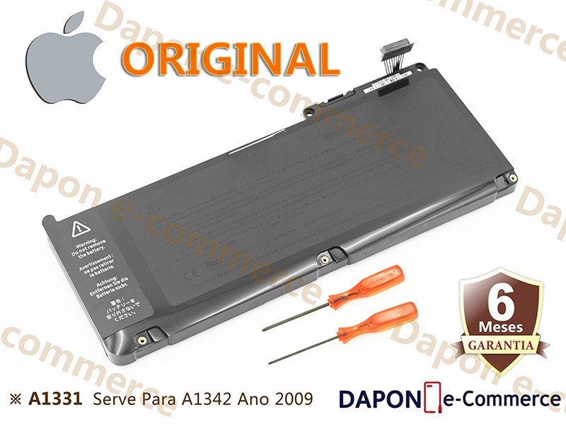 "Bateria Original Apple Modelo A1331 para MacBook Unibody 13"" (Late 2009 - Mid 2010)"