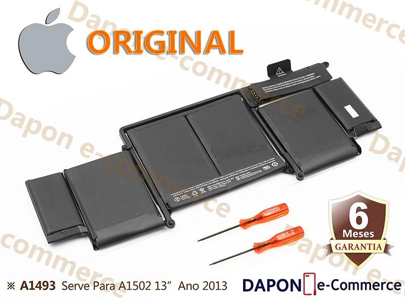 """Bateria Original Apple Modelo A1493 para MacBook Pro 13"""" Retina A1502 (Late 2013 - Mid 2014)"""