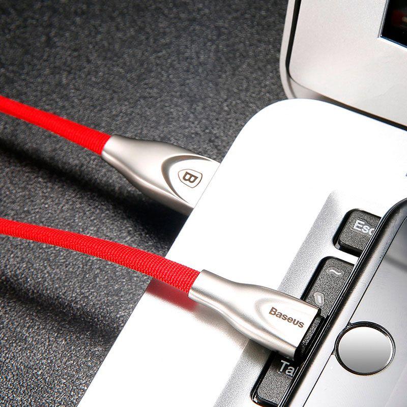Cabo Lightning em Liga de Zinco para iPhone com 2A e 100CM