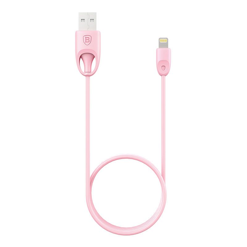 Cabo Lightning Homologado MFI para Apple iPod, iPhone e IPad Baseus Rainbow TPU 1M