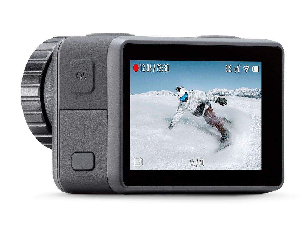 Câmera DJI Osmo Action 4K Com Estabilização + Camiseta DJI Grátis