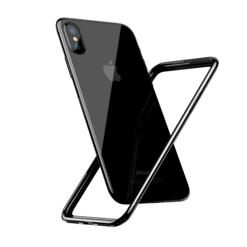 Capa Bumper Baseus Borda Macia para iPhone X