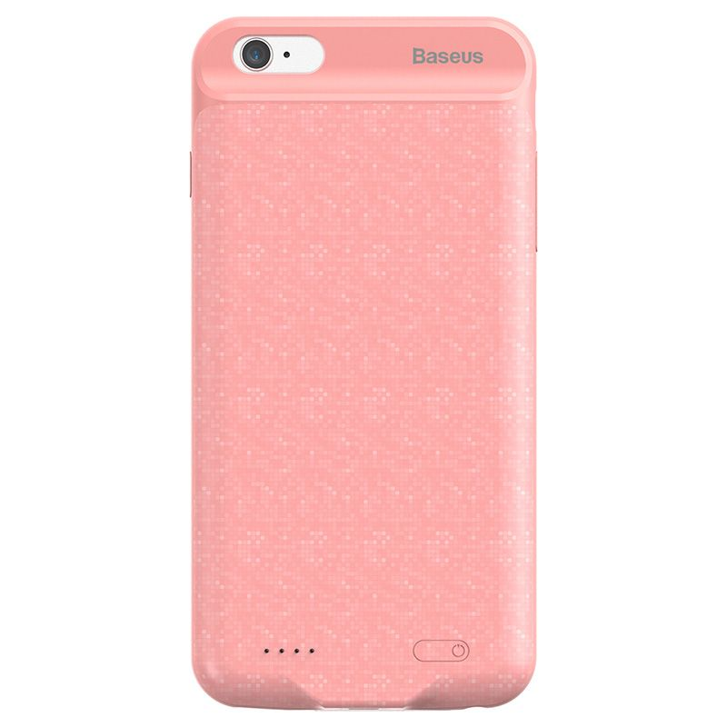 Capa Carregadora Baseus Plaid Slim 2500 mAh para iPhone 7 e 8